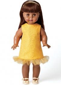 poppenkleertjes (voor een pop van ca 45 cm) Butterick 6645