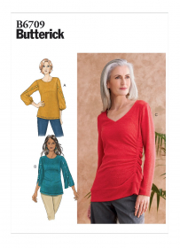 top (maat L-XL-XXL) Butterick 6709