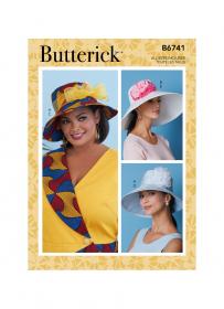 hoeden (S-M-L) Butterick 6741-A