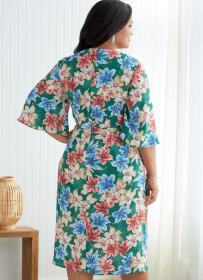 jurk en jumpsuit (maat 52-58) Butterick 6826