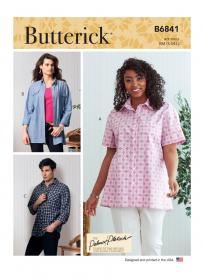 blouse (maat XL-XXL) Butterick 6841