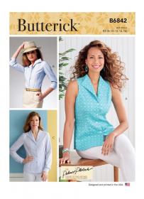 blouse (maat 42-50) Butterick 6842
