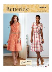 jurk (maat 42-50) Butterick 6843