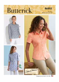 blouse (maat 34-42) Butterick 6852