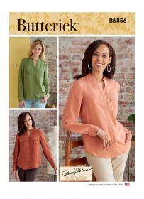 blouse (maat 42-50) Butterick 6856