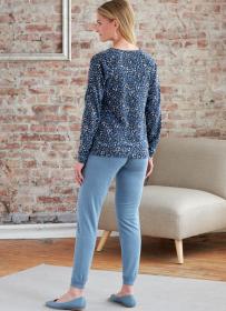 jurk, top, rok en broek (maat L-XXL) Butterick 6859