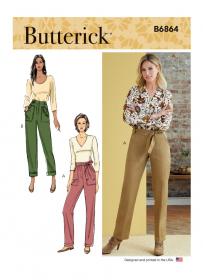 broek (maat 32-40) Butterick 6864