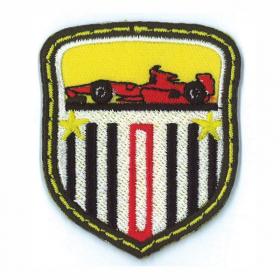 strijk embleem race car