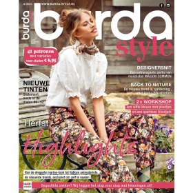 Burda Style september 2021 maandblad