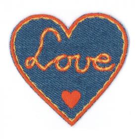 strijk embleem love