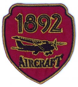 strijk embleem aircraft bordeaux