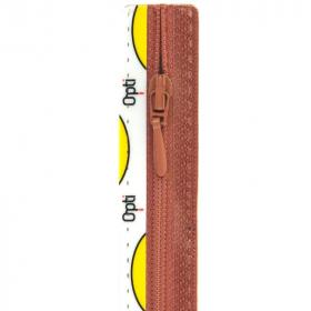 oudroze rits niet deelbaar, 55 cm (0776)