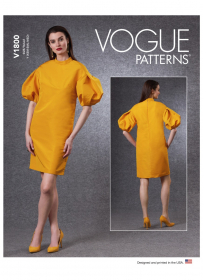 jurk (maat XS-M) Vogue 1800