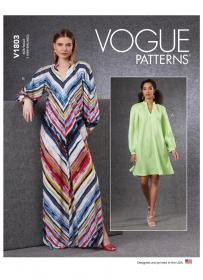 jurk (maat L-XXL) Vogue 1803